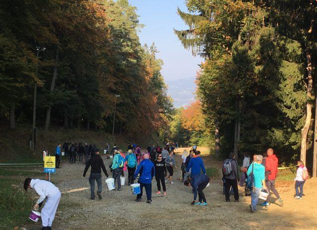 """Delovna akcija """"Prijatelji Pohorja 2018"""", FOTO: Visit Pohorje"""