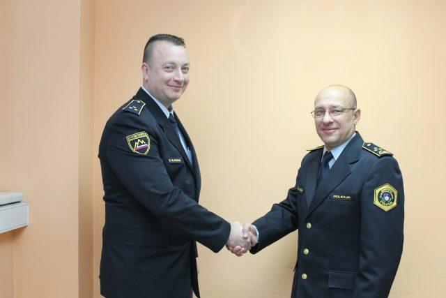Miroslav Glavendekić, nov komandir  lenarških  policistov. Vir: PU Maribor
