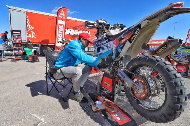 Simon Marčič, eli Dakar 2020, dan za počitek. Vir Facebook: Simon Marcic Racing