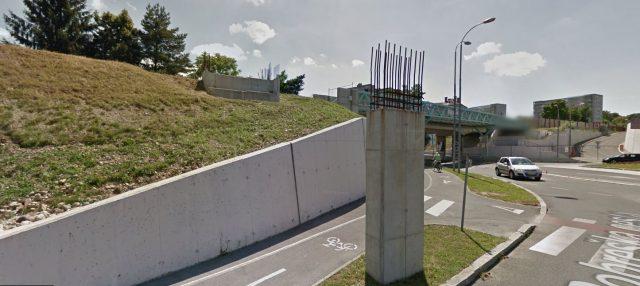 Krožišče Titove in Pobreške ceste. Vir: Google maps