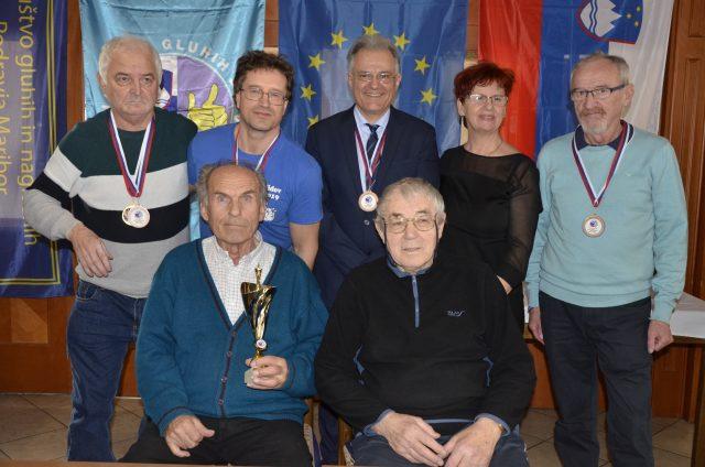 Mariborski šahisti dosegli 3. mesto ekipno na državnem prvenstvu gluhih. Avtor Sead Mešanovič
