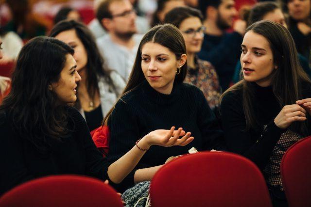 Sprejem Erasmus študentov v Mariboru. Vir: Facebook, Univerza v Mariboru